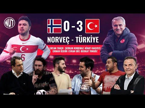 Norveç 0-3 Türkiye Maç Sonu Ozan Tufan (2) Çağlar Söyüncü
