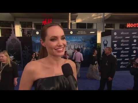 """Maleficent: Angelina Jolie """"Maleficent"""" LA Premiere Movie Interview"""