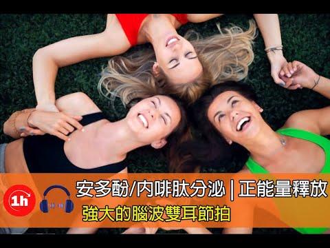 強大的腦波雙耳節拍 | 安多酚/內啡肽分泌 | 放鬆 | 冥想 | 正能量釋放音樂 | Delta | 1小時 - YouTube