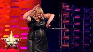 Rebel Wilson Shows Kit Harington Her Nunchuck Skills - The Graham Norton Show thumbnail