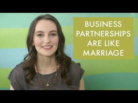 Business Partnerships are Like Marriage