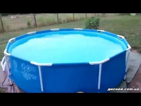 Купите каркасный бассейн для дачи по доступной цене в москве. Распродажа глубоких каркасных бассейнов в интернет магазине alltopshop. Ru.