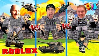 ROBLOX TOWER BATTLES - THE LITTLECLUB GO TO WAR WITH THEIR ARMIES!!