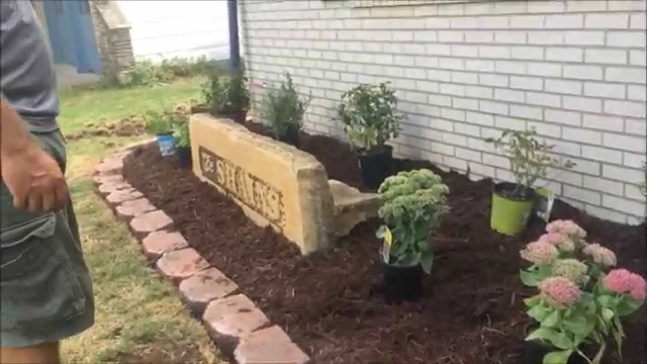 family landscaping project - redo