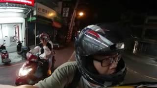 Samsung Gear 360 全景相機實拍:低光源環境拍攝(機車行進間之二,桃園八德)