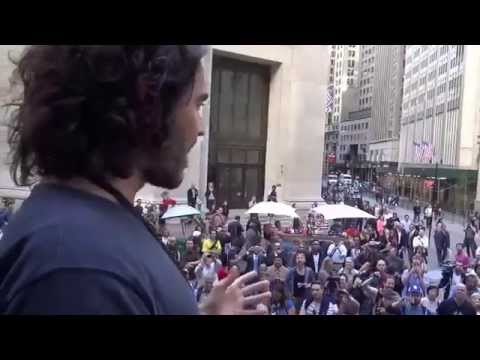 RUSSELL BRAND at Federal Hall, Hugs Ranger!!