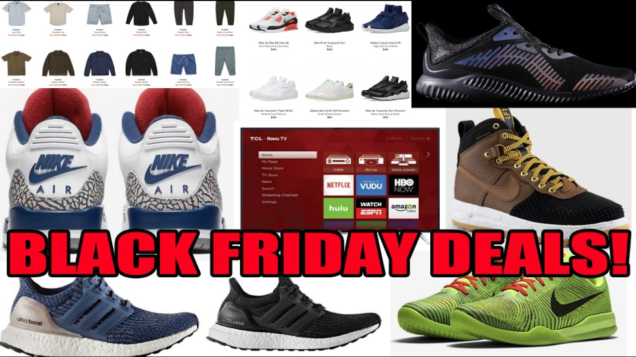 31e7e7e42452 2016 BEST BLACK FRIDAY SNEAKER   CLOTHING DEALS   MORE! - YouTube