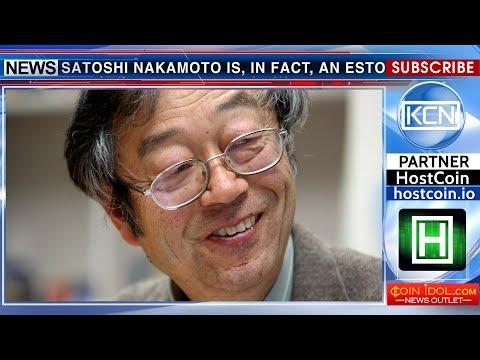 Satoshi Nakamoto is an Estonian scientist