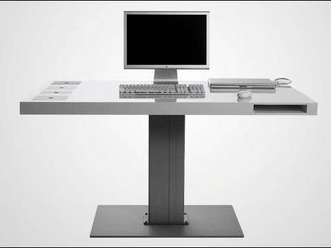 c753398c385d Computer Desk For Small Spaces - YouTube