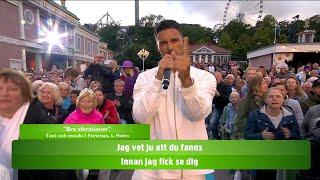 """Eric Saade och Kikki Danielsson ger oss """"Bra vibrationer""""  - Lotta på Liseberg (TV4)"""