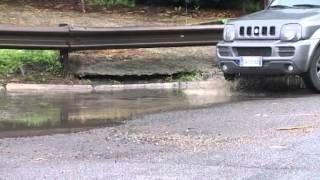 M5S Frascati - Le buche delle strade di Vermicino