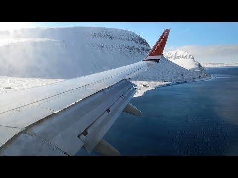 Norwegian Boeing 737-800 Oslo - Longyearbyen