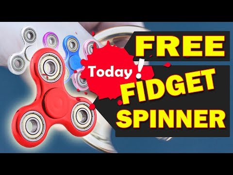 2017 Hot Trending Fidget Spinner - FREE JUST PAY Shipping/Handling