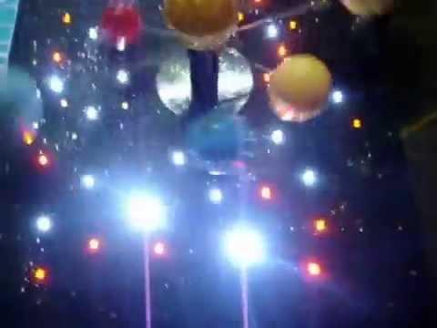 Maqueta Del Sistema Solar Giratoria Youtube