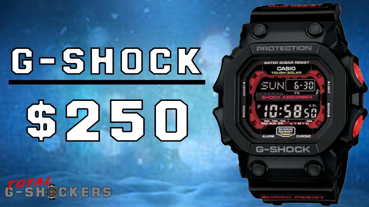 G-Shock Watches Under $250 – Top 15 Best Casio G Shock Watches Under $250