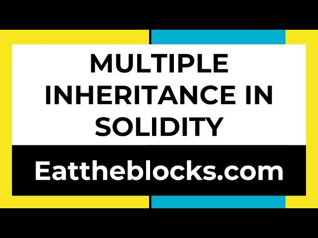Multiple Inheritance In Solidity | Ep7