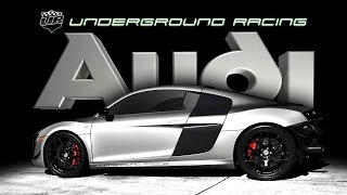"Underground Racing Twin Turbo Audi R8 is ""King Of The Street"" at TSS Texas Invitational"