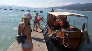 Кабардинка, Рыбалка и Дельфины в открытом море.