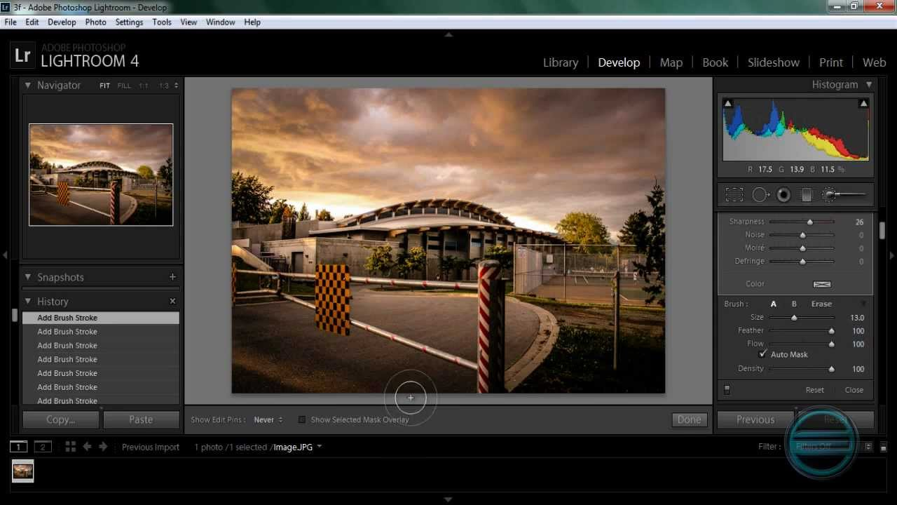 Best Photo Editing Software: Adobe Lightroom