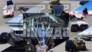 GTA5 Online - Автоколонна ремиксы - Шеф в загуле и запое! #2 / Live Stream PS4 / Стрим