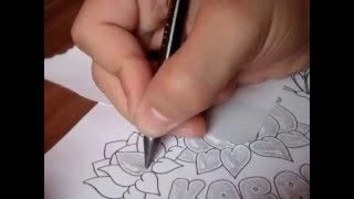 how to draw butterfly and flower