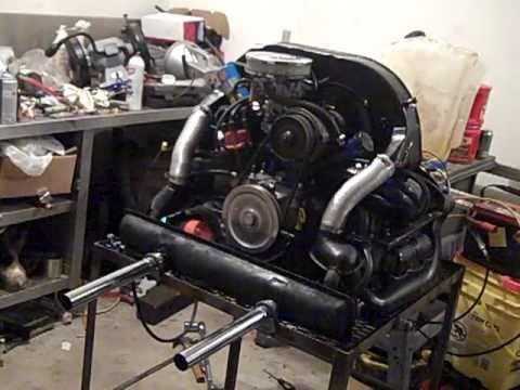 74 VW 1600 Engine  YouTube