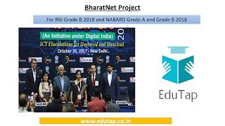 BHARATNET explained for RBI and NABARD 2018