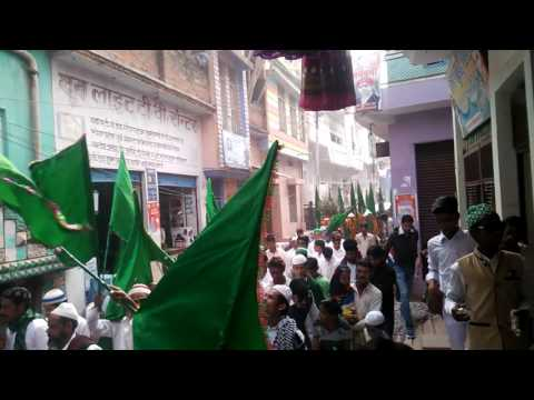 Jasne eid milad un nabi rath hamirpur in up
