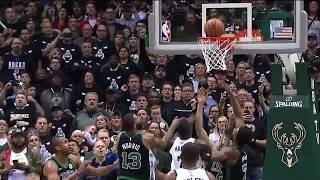Giannis Antetokounmpo Hits Game-Winner   Celtics vs Bucks - Game 4   2017-18 NBA Season