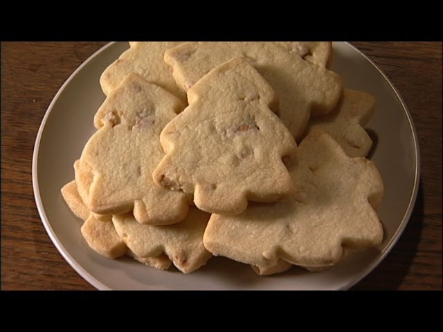 Cashew Shortbread Cut-out Cookies