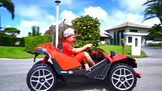 سينيا وسياراته. مجموعة من أفضل المسلسلات للأطفال