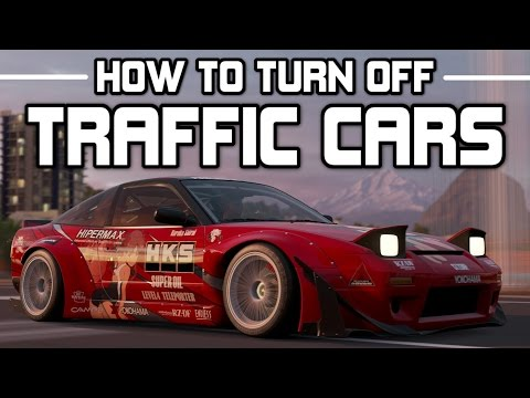 Forza Horizon 3 - How to turn off Traffic Cars - Widebody 240SX