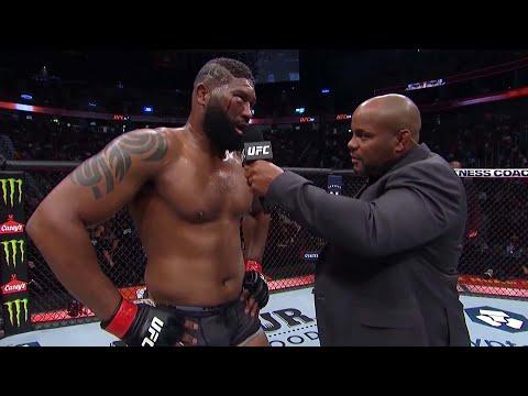 UFC 266: Curtis Blaydes Octagon Interview