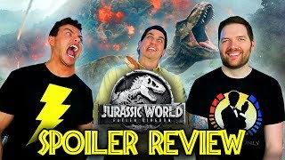 JURASSIC WORLD Fallen Kingdom - SPOILER Discussion