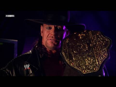 The Undertaker addresses the WWE Universe