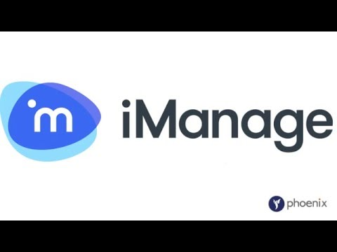 iManage document management for Corporate Legal Departments