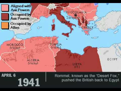 WWII in EUROPE Wiv dates!! =]P - YouTube