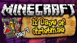 """TENSION IN THE HOUSE!"" 12 Days of Christmas Minecraft Special - Day 7 (HD)"
