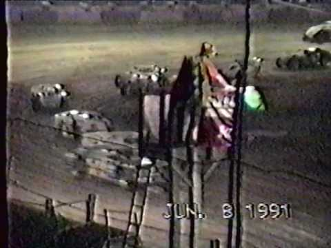 Peoria Speedway  - 6/8/91