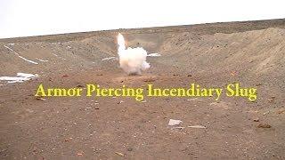 Exotic Shotgun Ammo Pt6 - Armor Piercing Incendiary Slug