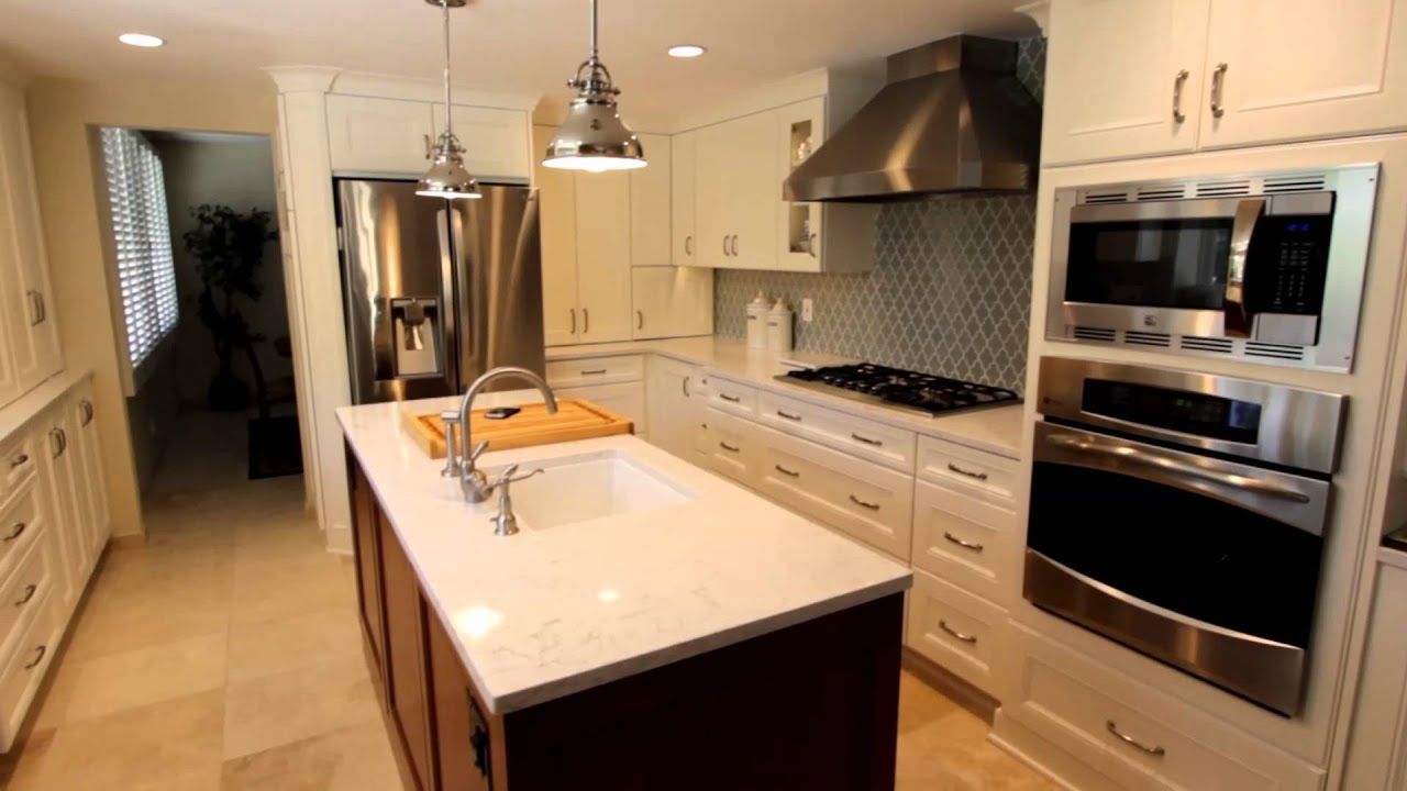 Kitchen,Bathroom U0026 Bar Remodel With Cambria Quartz Countertop In Anaheim  Hills Orange County   YouTube