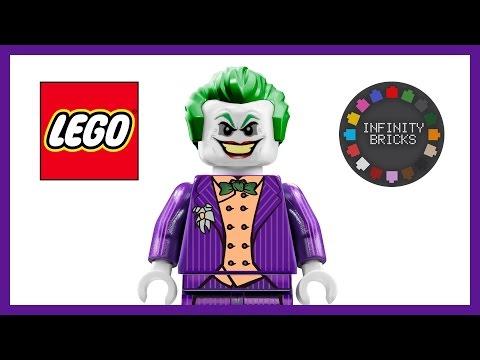 LEGO Custom JOKER Minifigure (Inspired by Batman Arkham Asylum, City & Knight by ROCKSTEADY)
