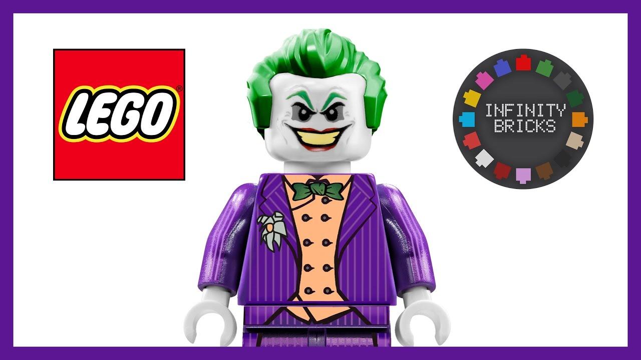 Lego custom joker minifigure inspired by batman arkham asylum city knight by rocksteady youtube