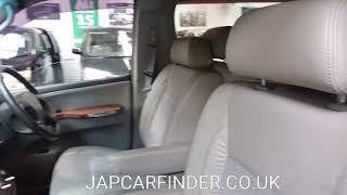 Elgrand XL captin seats AS GOOD AS NEW @ JAP CAR FINDER