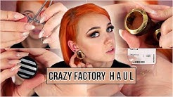 Crazy Factory HAUL I der Piercing Struggle !