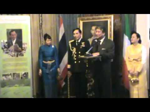 Royal Thai Armed Forces Day 18 Jan 2011 Italy, Rome