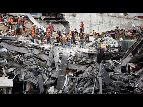 Drittes schweres Erdbeben diesen Monat in Mexiko