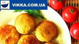 ПИРОЖКИ «Бомбочки»:Пирожки жареные без дрожжей рецепт | VIKKAvideo