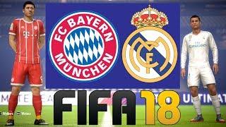 """REAL MADRYT VS BAYERN MONACHIUM - FIFA 18 """"LIGA MISTRZÓW UEFA"""" HOGATY i SYLO #09"""