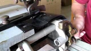 Mesin Seset Kulit / Skiving Machine
